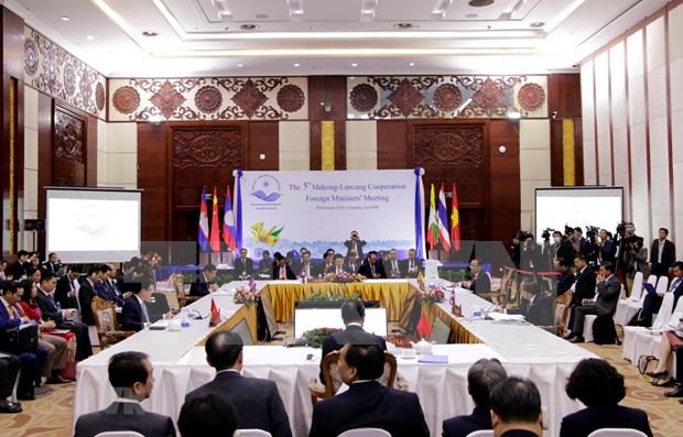湄公河-澜沧江流域国家一致同意加强合作 hinh anh 1
