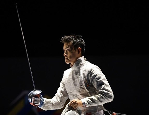 越南击剑运动员武成安参加在波兰举行的2020年世界击剑锦标赛 hinh anh 1