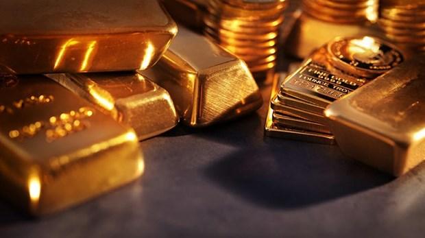 2月21日越南国内黄金价格接近4550万越盾 hinh anh 1