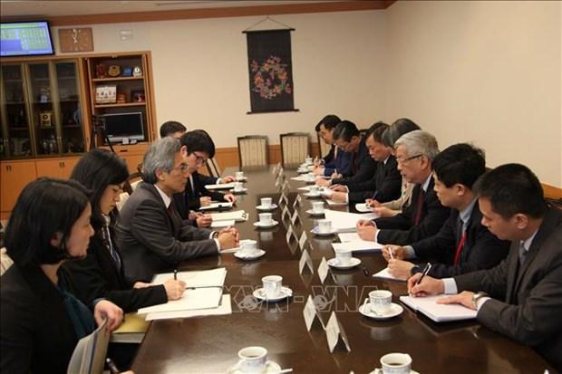 越南和日本进行防务磋商 为2020年东盟主席年做出精心准备 hinh anh 1