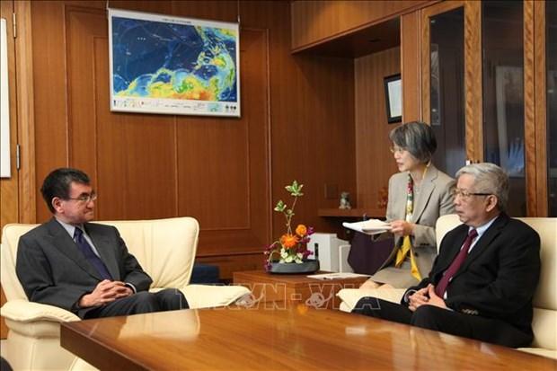 越南和日本进行防务磋商 为2020年东盟主席年做出精心准备 hinh anh 2