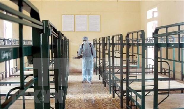 新冠肺炎疫情:政府总理指示下拨5吨氯胺B用于疫情防控工作 hinh anh 1
