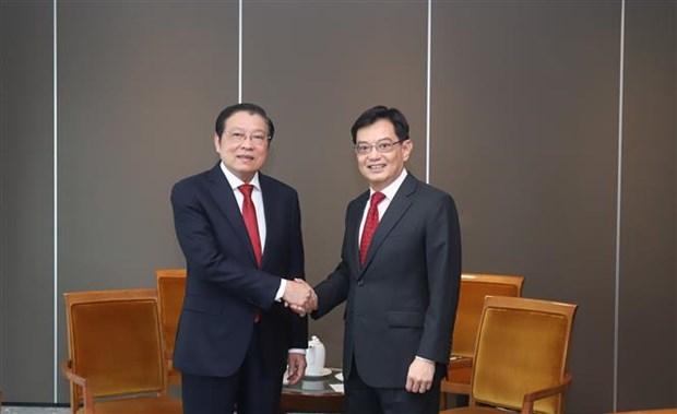 新加坡希望同越南加强多方面的合作关系 hinh anh 2