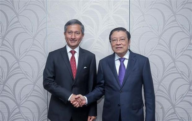新加坡希望同越南加强多方面的合作关系 hinh anh 1