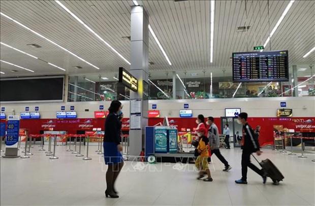 新冠肺炎疫情:越南尚未禁止往返韩国的航班 hinh anh 1