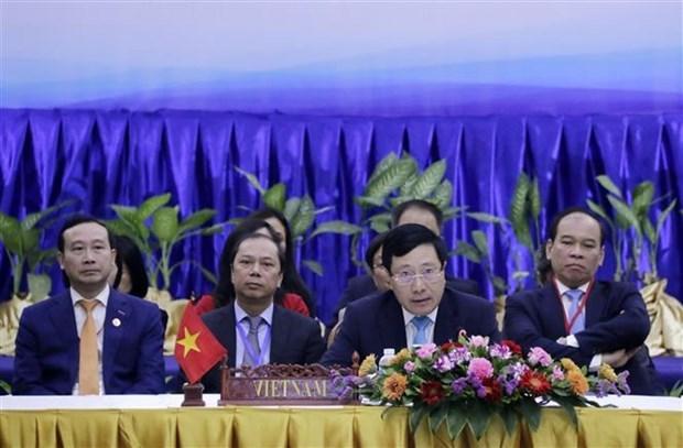 东盟协调委员会主席发表有关应对新冠肺炎疫情的新闻声明 hinh anh 1