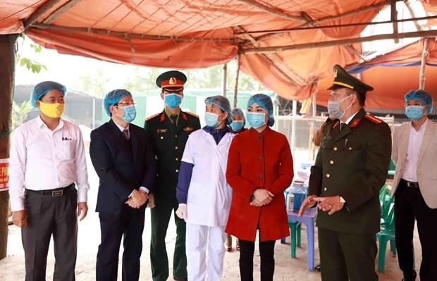 新冠肺炎疫情:越南卫生部引导关注来自疫区人员的身体健康状况 hinh anh 1