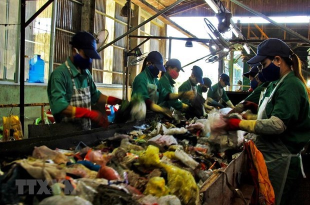 越南废塑料回收再生行业有较大发展潜力 hinh anh 1