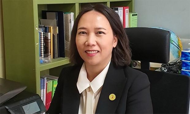 首个越裔韩国人参选韩国国会议员 hinh anh 1
