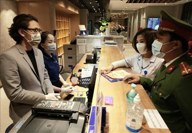 新冠肺炎疫情:河内市有足够条件防控疫情 hinh anh 1