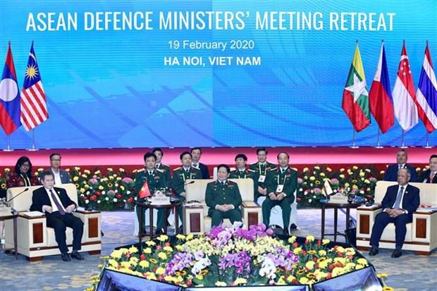越南积极就东盟防务合作进程提出多项倡议 hinh anh 1