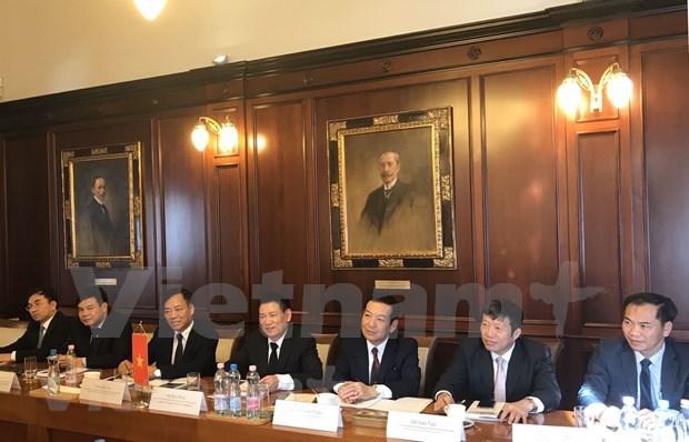 越南国家审计署代表团出席在匈牙利召开的国际研讨会 hinh anh 2