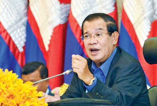 柬埔寨首相把该国2020年经济增长预期下调至6%左右 hinh anh 1