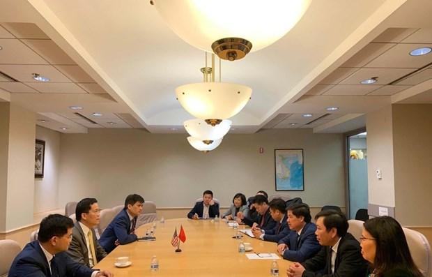 越南驻美大使馆努力促进双边贸易、投资和旅游合作 hinh anh 1