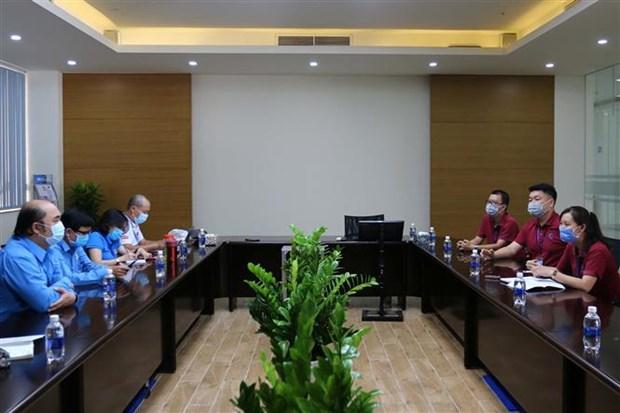 新冠肺炎疫情:胡志明市加大对企业和工人宿舍的监控和防疫工作 hinh anh 1