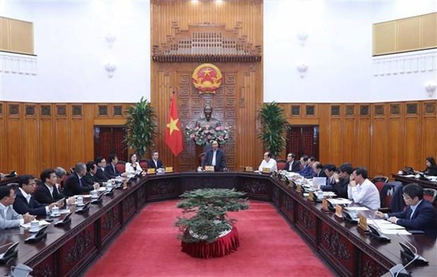 政府总理阮春福与薄寮省领导班子举行工作会议 hinh anh 1