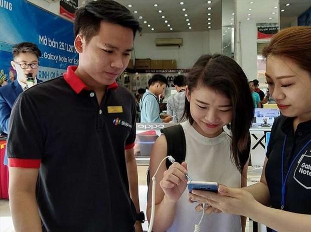 越南是东南亚地区手机网速最快的国家 hinh anh 1