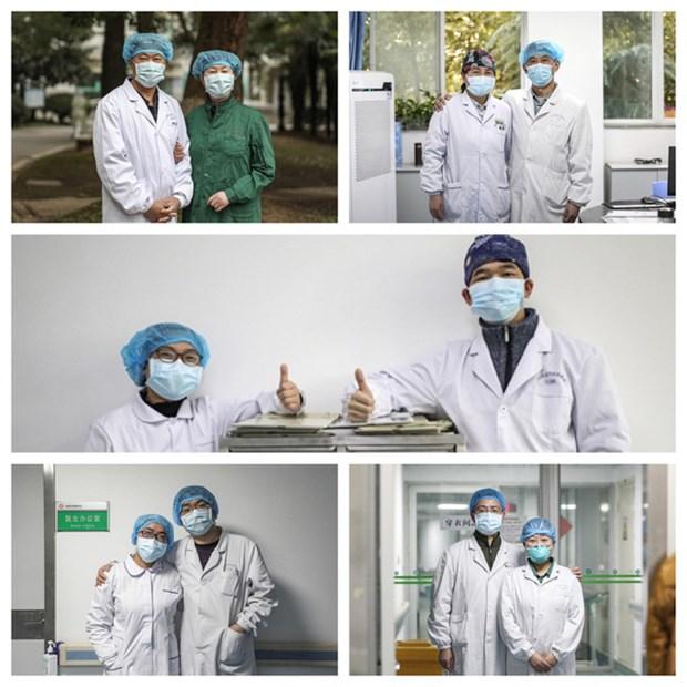 新冠肺炎疫情:格外特别的越南医生日 hinh anh 2