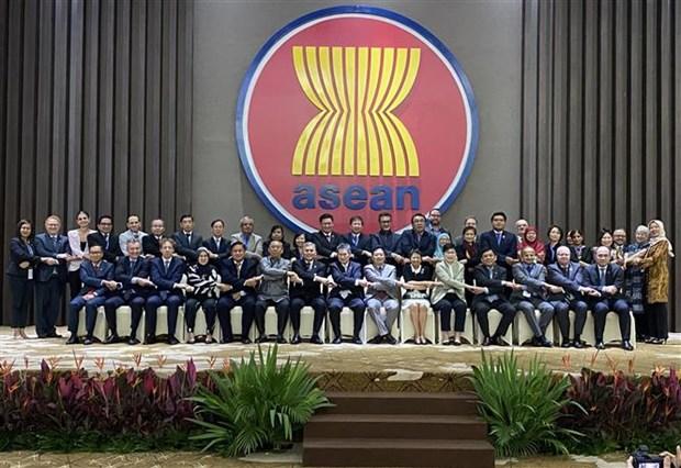 东盟灾害管理高级会议在印尼举行 hinh anh 1