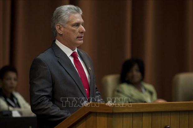 古巴国务委员会主席承诺为越南投资商创造一切便利条件 hinh anh 1