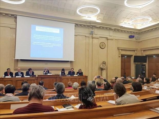 东海合作研讨会在法国举行 hinh anh 1
