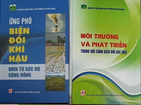 涉及环境和应对气候变化的两本书正式亮相 hinh anh 1