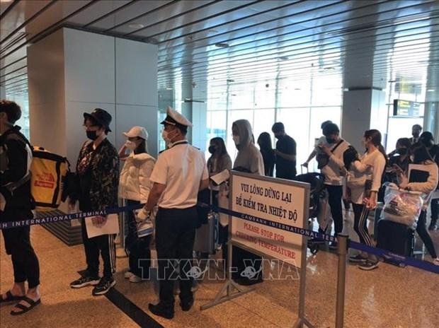  29日起从伊朗和意大利入境越南的游客务必进行健康申报 hinh anh 1
