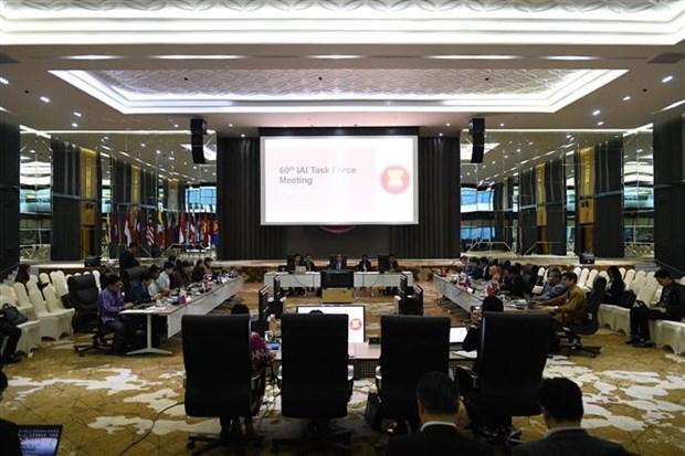东盟一体化倡议工作组第60次会议召开 hinh anh 1