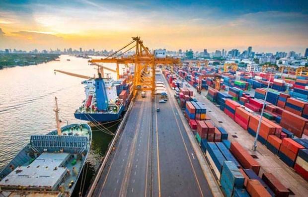 力争到2025年物流与运输业占GDP比重达8-10% hinh anh 1