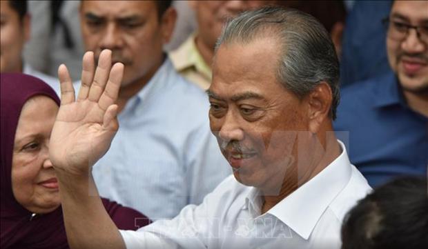 毛希丁宣誓就任马来西亚总理 hinh anh 1
