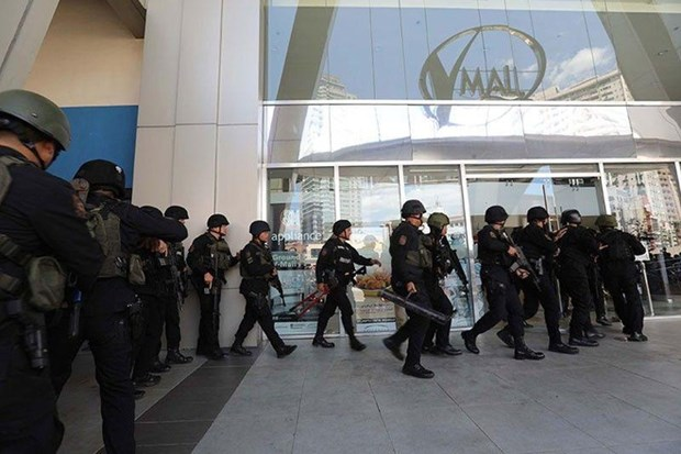 菲律宾首都马尼拉发生劫持事件 约30人质被困 hinh anh 1