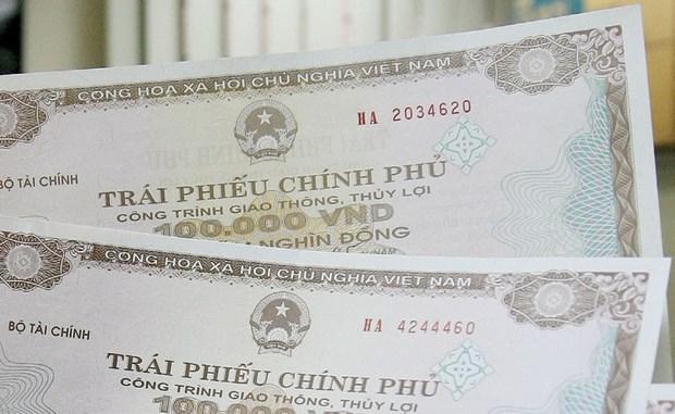 2019年越南发行政府债券成功筹集资金13.7万亿越盾 hinh anh 1