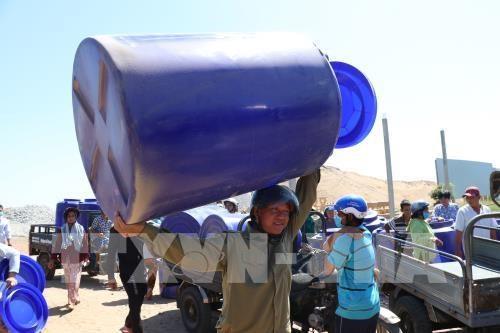 世行向九龙江三角洲安全供水项目提供支持 hinh anh 1