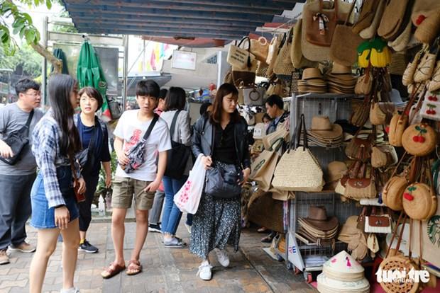 岘港市密切跟踪韩国游客的出行信息和健康情况 hinh anh 1