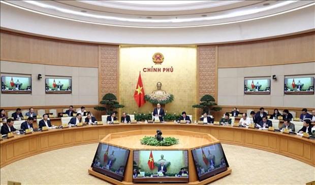 阮春福总理:坚持落实新冠肺炎疫情防控工作和促进经济发展双重目标 hinh anh 1