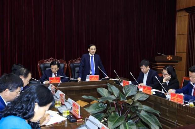 越南奠边省与中老泰各边境省份的关系不断得到加强 hinh anh 1