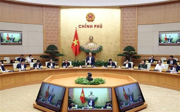 阮春福总理:越南经济社会在困境中依然保持稳定 hinh anh 1