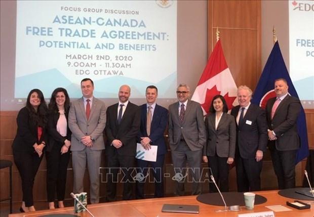 东盟与加拿大自由贸易协定:潜力与利益 hinh anh 1