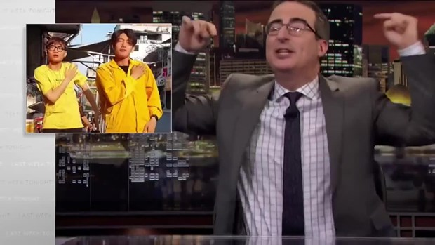 越南洗手歌亮相美国HBO电视台《上周今夜秀》 hinh anh 1