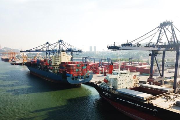 盖麟港口拟提升基础设施以接待超大型船舶 hinh anh 1