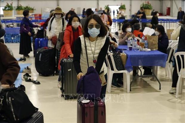 新冠肺炎疫情:从韩国入境越南的乘客必须接受隔离 hinh anh 1