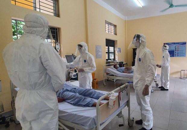 新冠肺炎疫情:越南国防部开展有史以来规模最大的疫情防控演练活动 hinh anh 1
