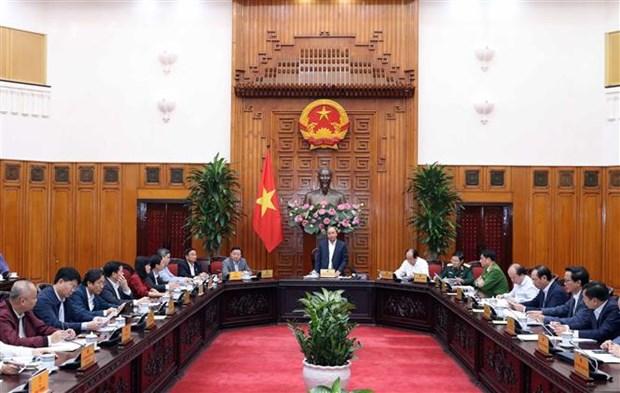 政府总理阮春福:河静省需继续集中精力发展工业 做好国防安全保障工作 hinh anh 1