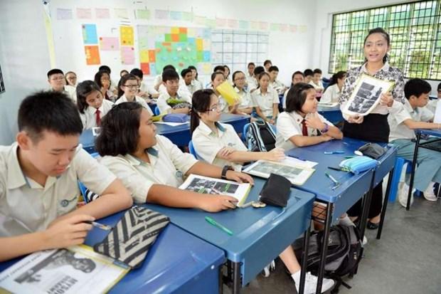 新加坡初中和高中教育课程中增加有关东盟教育内容 hinh anh 1