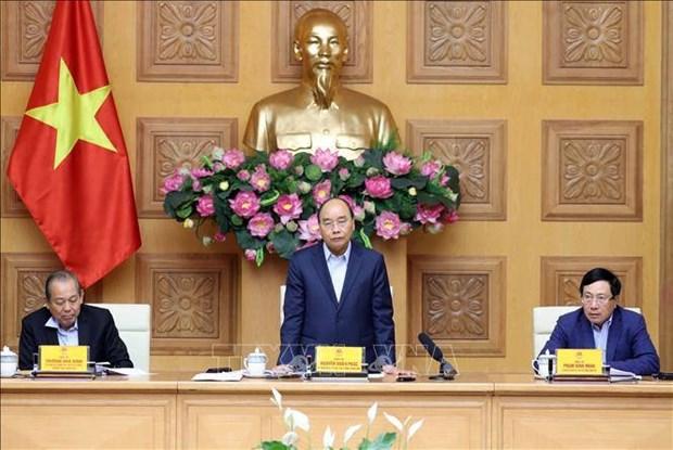 阮春福总理:在新冠肺炎疫情防控工作中要采取新做法 hinh anh 1