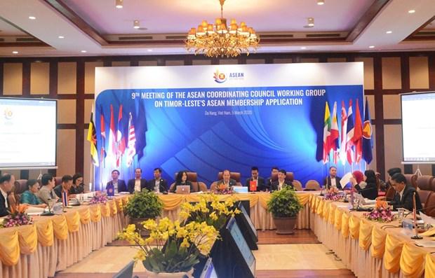 东盟协调委员会工作小组第九次会议在岘港举行 hinh anh 1