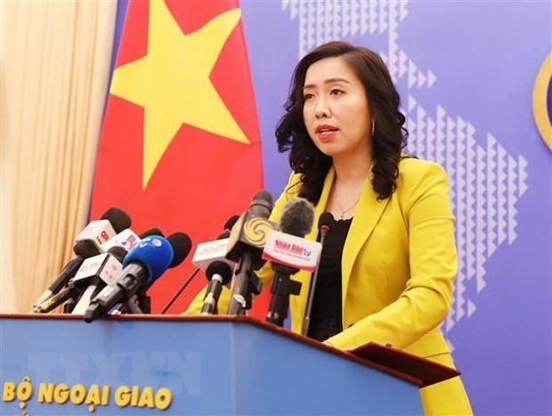 外交部发言人:在湄公河主流建设的水电工程需要确保没有对居民生活造成消极影响 hinh anh 1