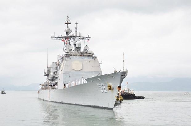 越南外交部发言人就美国海军军舰队访问岘港回答记者问 hinh anh 1
