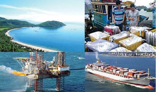 越南政府颁布海洋经济可持续发展总体计划 hinh anh 1