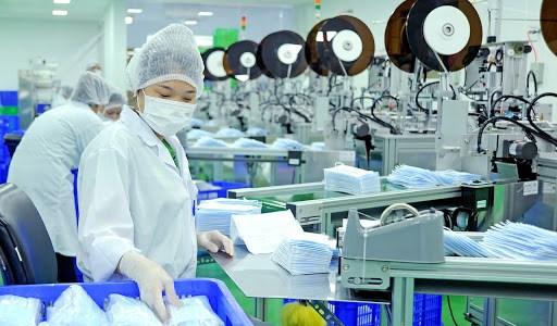越南将抗菌布料应用于口罩生产 hinh anh 1